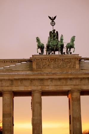 Brandenburg gate in Berlin, Germany Stock Photo - 10333879