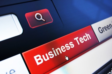 accessed: Business tech concept