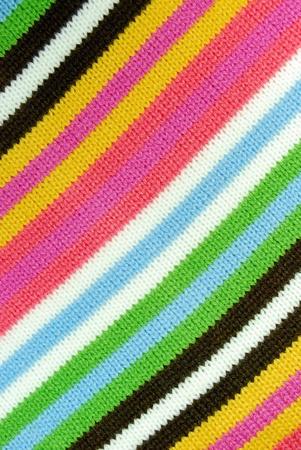 Colorful fabric  photo