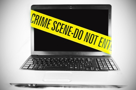 Computer crime  Stock Photo - 10327536