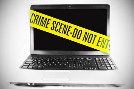 Criminalità informatica Archivio Fotografico