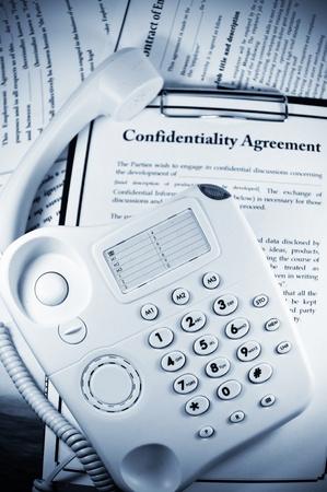 Confidentiality  Stock Photo