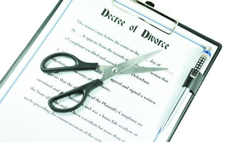 Divorce  Stock Photo - 10327482