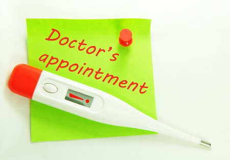 doctor's appointment: Doctor