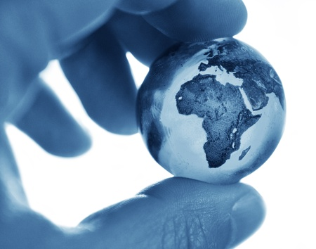 continents: Earth  Stock Photo