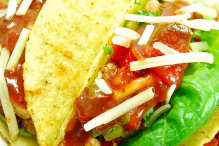 Tacos mexican food closeup  photo