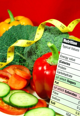 nutritionist: Healthy diet  Stock Photo
