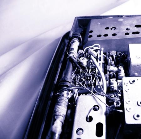 transistor: Transistor de radio viejo