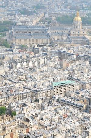 Flight over Paris photo