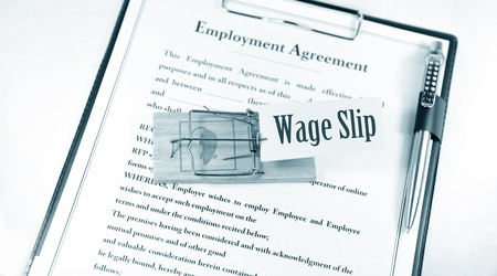 Employment contract Stock Photo - 10361719