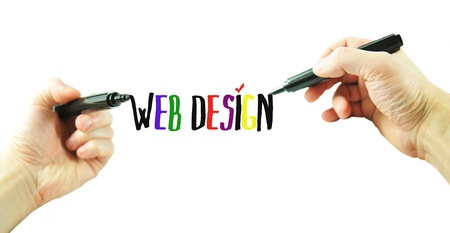 graphic designing: Web design