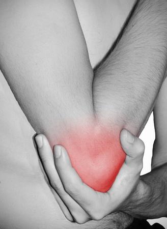 Elbow injury Stock Photo - 10398026
