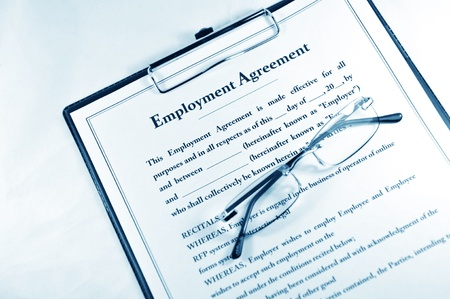new contract: Employment contract