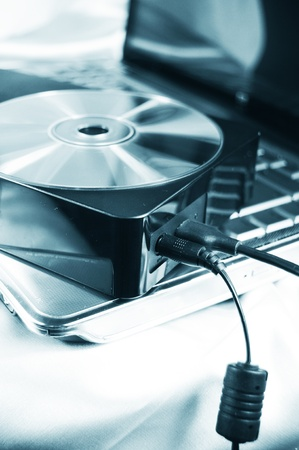 compact disk: External hard drive