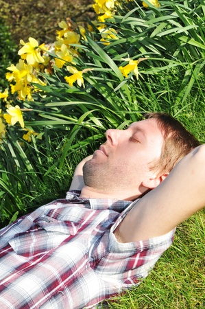 Hay fever Stock Photo - 10521521