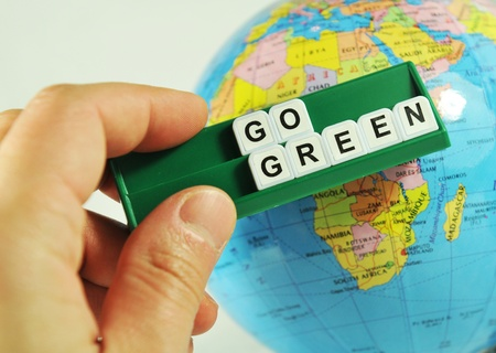Go green! Stock Photo - 10422531