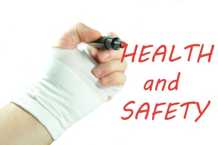 health industry: Health and safety Stock Photo