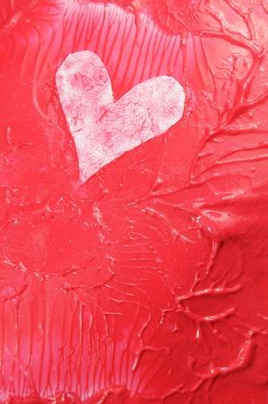 donacion de organos: Corazón abstracto