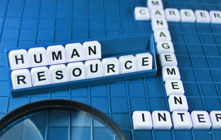resources management: Human resources Stock Photo