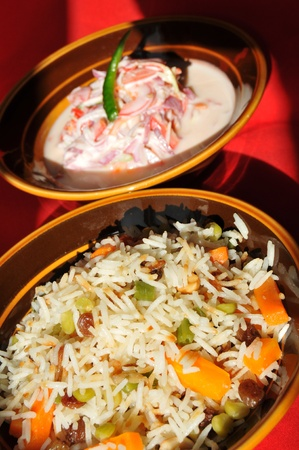 basmati: Indian food Stock Photo