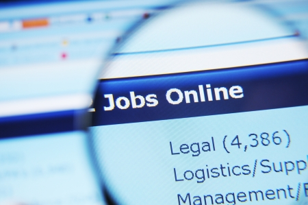 search result: Internet jobs Stock Photo