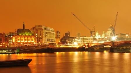 sunsets: London by night Stock Photo