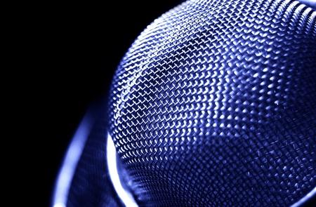 microfono antiguo: Micrófono detalle