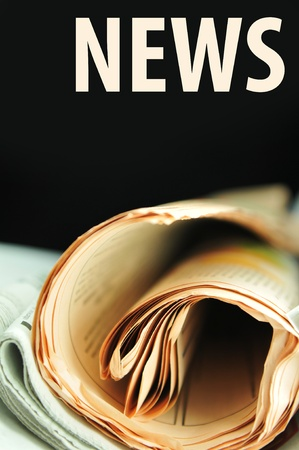 published: News concept