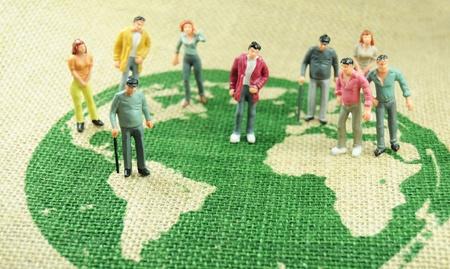 World population photo