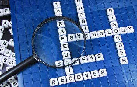 disorder: Psicolog�a Foto de archivo