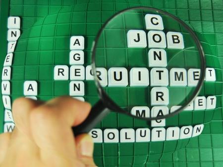 Focus on jobs photo