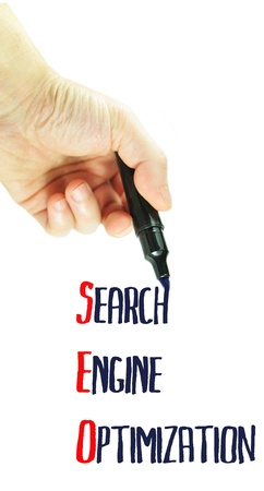 SEO (Search Engine Optimization) concept Stock Photo - 10497899