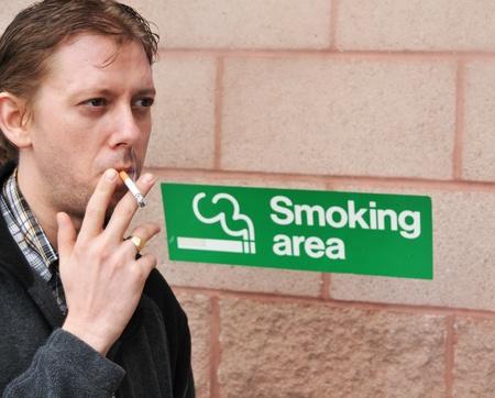 Smoking area photo