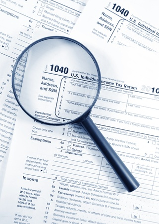 ingresos: Formularios de impuestos