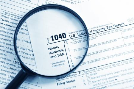 retour: Belastingformulieren