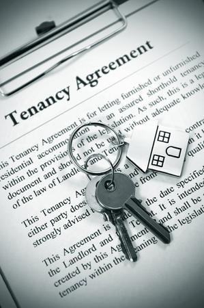 Tenancy agreement Stock Photo - 10520204