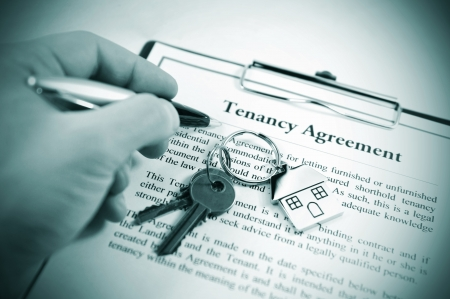 let on: Tenancy agreement