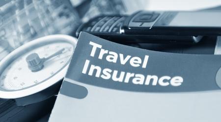 voyage: L'assurance voyage Banque d'images