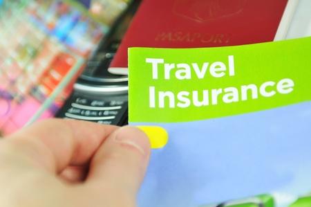 seguros: Seguro de viaje Foto de archivo