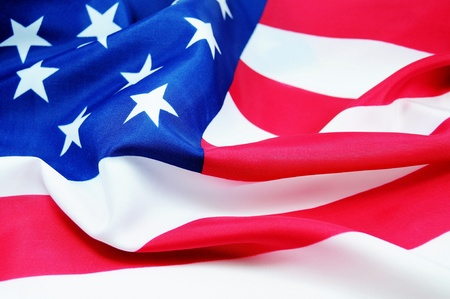 immigrants: American flag