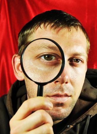 Man searching Stock Photo - 10554690