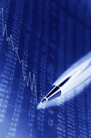 Stock market concept Stock Photo - 10554747