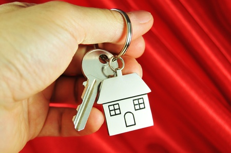 Key for a new house photo