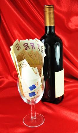 Expensive wine photo