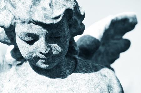 mortality: Stone angel