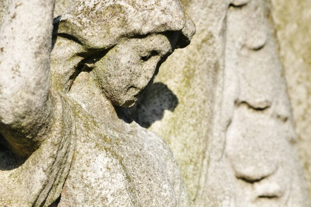 angel cemetery: Architectural detail