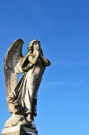 angel cemetery: Prayer