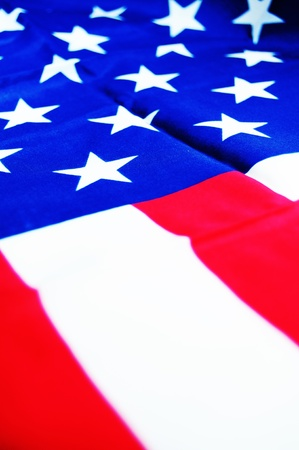 democratic: Abstract American flag