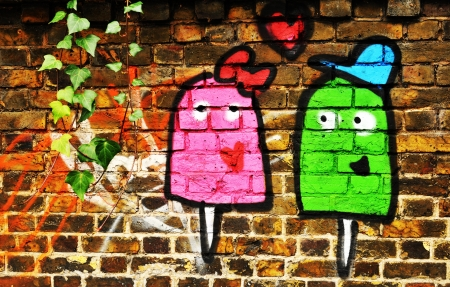 Love graffiti  photo