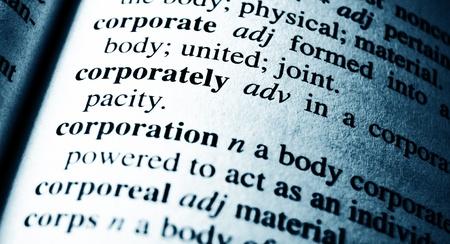 pronounce: Corporate